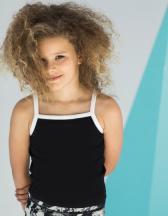 Kids` Feel Good Stretch Contrast Strappy Vest